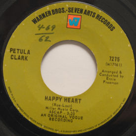 Petula Clark - Happy Heart/Love Is The Only Thing