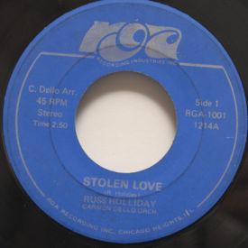 Russ Holliday - Stolen Love