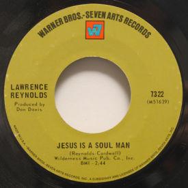Lawrence Reynolds - Jesus Is A Soul Man/I Know A Good Girl