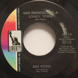 Ben Peters - San Francisco Is A Lonely Town