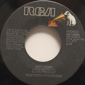 Elvis Presley - Way Down/Pledging My Love