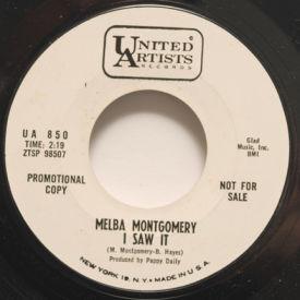 Melba Montgomery - I Saw It/White Lightning