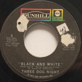 Three Dog Night - Black And White