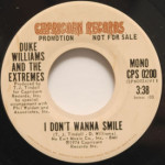 Duke Williams And The Extremes - I Don't Wanna Smile