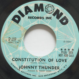 Johnny Thunder - Constitution Of Love