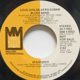 Love Childs Afro-Cuban Blues Band - Spandisco