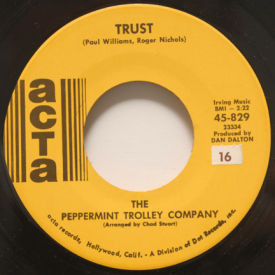 Peppermint Trolley Company - I Remember Long Ago/Trust