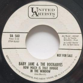 Baby Jane & The Rockabyes - My Boy John