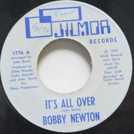 Bobby Newton - It's All Over/Shady Lady