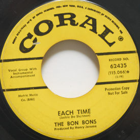 Bon Mots - Each Time/Everybody Wants My Boyfriend