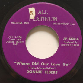 Donnie Elbert - Where Did Our Love Go
