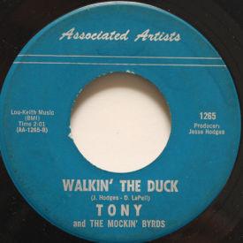 Tony And The Mockin' Byrds - Mockingbird Hill/Walkin' The Duck