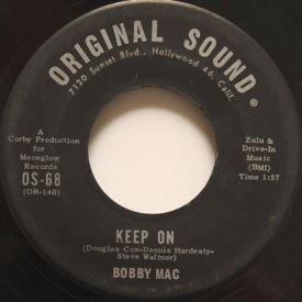 Bobby Mac - Walkin' Together/Keep On
