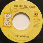 Vogues - Five O'Clock World/Nothing To Offer