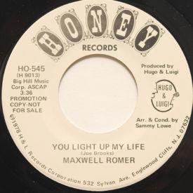 Maxwell Romer - You Light Up My Life