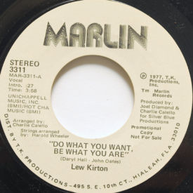 Lew Kirton - Do What You Want, Be What You Are