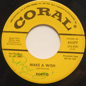 Rory-O - Make A Wish – Autographed