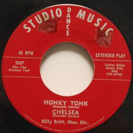 Billy Britt - Honky Tonk/Chelsea/Oh Oh/Cajon