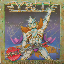 Y&T - In Rock We Trust – AUTOGRAPHED