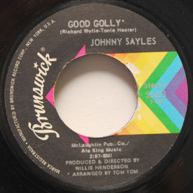 Johnny Sayles - My Love Ain't No Love Without Your Love