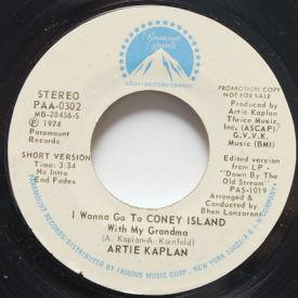 Artie Kaplan - I Wanna Go To Coney Island With My Grandma