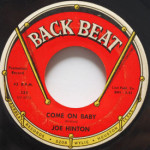Joe Hinton - The Girl In My Life/Come On Baby
