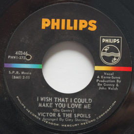 Victor & The Spoils - I Wish That I Could Make You Love Me/Lonely Memory