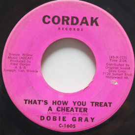 Dobie Gray - That's How You Treat A Cheater