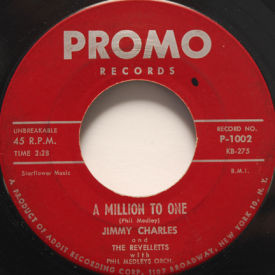 Jimmy Charles And The Revelletts - A Million To One/Hop Scotch Hop