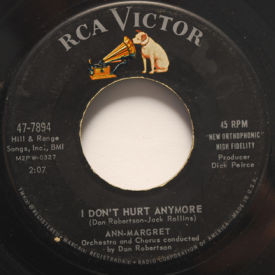 Ann-Margret - I Don't Hurt Anymore/I Just Don't Understand