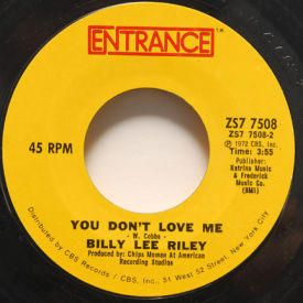 Billy Lee Riley - I Got A Thing About You Baby