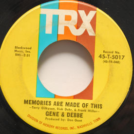 Gene & Debbe - Memories Are Made Of This