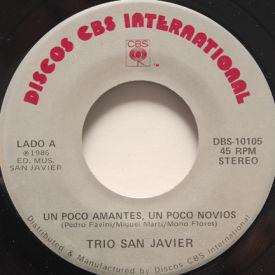 Trio San Javier - Un Poco Amantes, Un Poco Novios