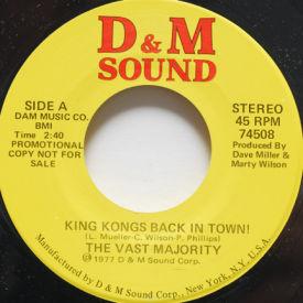 Vast Majority - King Kong's Back In Town