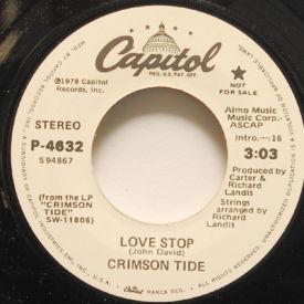 Crimson Tide - Love Stop