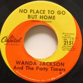 Wanda Jackson - No Place To Go But Home