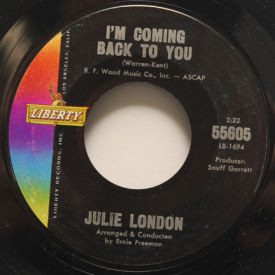 Julie London - I'm Coming Back To You