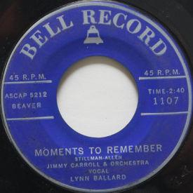 Lynn Ballard - Moments To Remember/The Shifting Whispering Sands