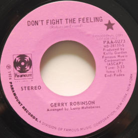 Gerry Robinson - Don't Fight The Feeling/A Ribbon Of White