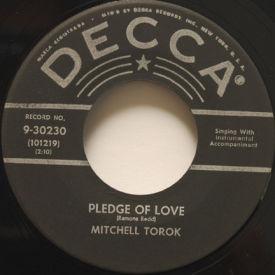 Mitchell Torok - Pledge Of Love/What's Behind That Strange Door