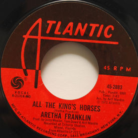 Aretha Franklin - All The King's Horses/April Fools