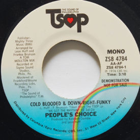 People's Choice - Cold blooded & Down Right Funky