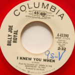 Billy Joe Royal - I Knew You When