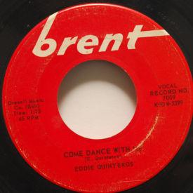Eddie Quinteros - Come Dance With Me/Vivian