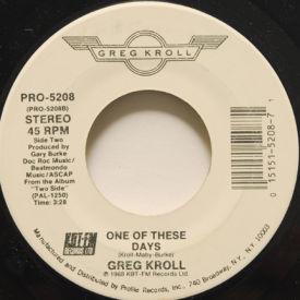 Greg Kroll - Here Comes Joanne