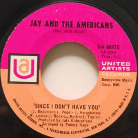 Jay and the Americans - Since I Don't Have You/This Magic Moment