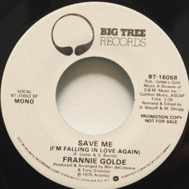Frannie Golde - Save Me