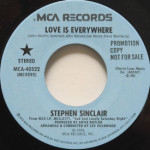 Stephen Sinclair - Love Is Everywhere