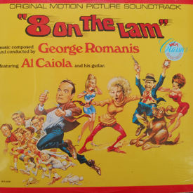 George Romanis/Al Caiola - 8 On The Lam – SEALED