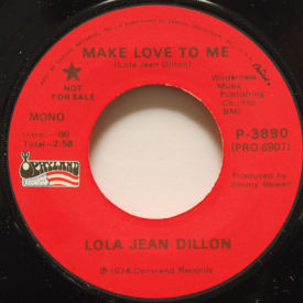 Lola Jean Dillon - Make Love To Me